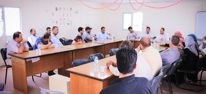 Meeting of the public association Center of khuza'a