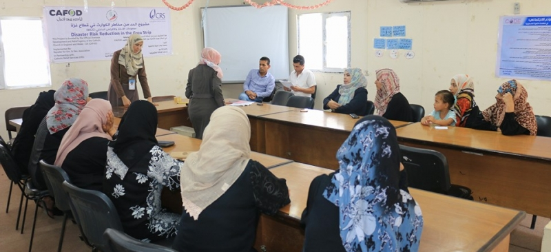Khuza'a Center hosts a training workshop on savings and internal lending SILC.