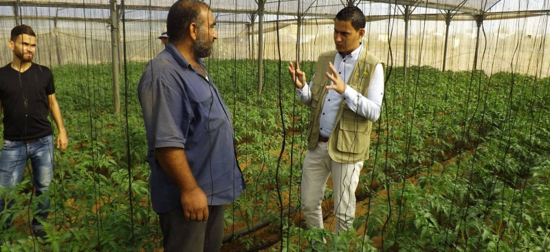 مشروع الارشاد الزراعي