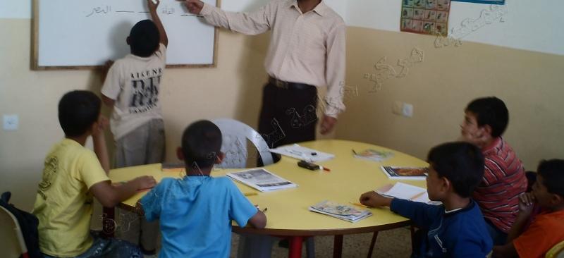 مشروع رفع كفاءة طلاب المرحلة الابتدائية في التحصيل الدراسي