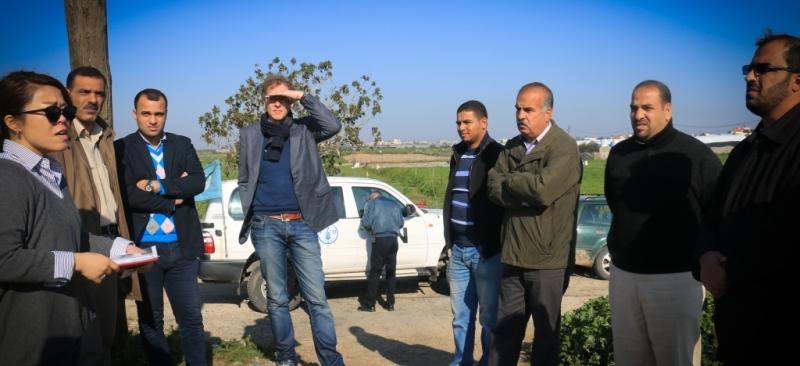 زيارة منظمة الفاو وممثلية القنصلية الهولندية