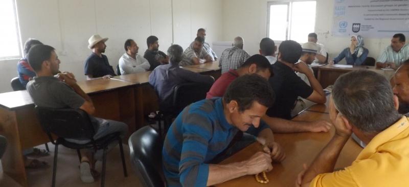 ورشة عمل لتحديد احتياجات القطاع الزراعي في منطقة خزاعة في ظل ازمة الكهرباء المتفاقمة