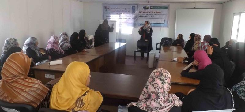 مشروع الدعم الطارئ للأسر المهمشة في غزة
