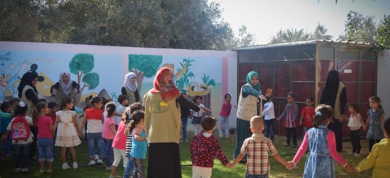 زيارة ميدانية لروضة الأوائل وتقديم إرشادات صحية